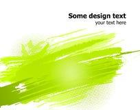 De groene abstracte verf bespat achtergrond. Vector Royalty-vrije Stock Foto