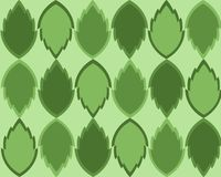 De groene Achtergrond van Bladeren Royalty-vrije Stock Afbeelding