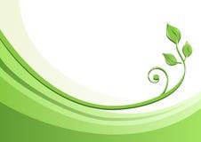 De groene Achtergrond van de Aard Stock Afbeelding