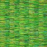 De groene achtergrond van de canvas textieltextuur Stock Fotografie