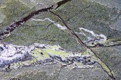 De groene achtergrond van de granietsteen Stock Foto