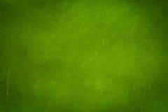 De groene achtergrond van de grungemuur Stock Foto