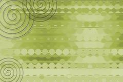 De groene Achtergrond van de Rol vector illustratie