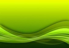 De groene achtergrond van de rooster Stock Foto