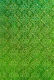 de groene achtergrond van de gebrandschilderd glastextuur Royalty-vrije Stock Foto's