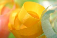 De groene Achtergrond van het Lint Royalty-vrije Stock Fotografie