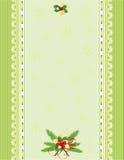 De groene achtergrond van Kerstmis Royalty-vrije Stock Foto's