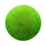 De groene Bal van het Gras Royalty-vrije Stock Afbeeldingen