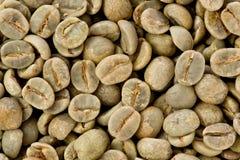 De groene Bonen van de Koffie Stock Fotografie