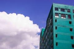 De groene bouw Stock Foto