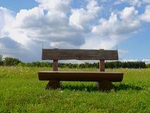 De groene de zonaard van de gebiedenzomer plant bosduitsland Stock Afbeelding
