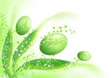 De groene decoratie van Pasen Royalty-vrije Stock Fotografie