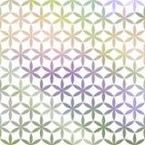 De groene en lavendelpastelkleur defocused achtergrond Stock Afbeelding