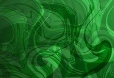 De groene en witte Abstracte voering wierp 3 D vectorbehang af als achtergrond vector illustratie
