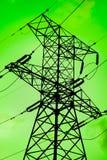 De groene energie is schoon milieu Stock Afbeeldingen