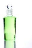 De groene fles van het kuuroord - Royalty-vrije Stock Afbeeldingen