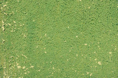 De groene gebarsten textuur van de gipspleistermuur Royalty-vrije Stock Afbeeldingen