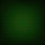 De groene grill van het metaalnetwerk stock foto