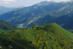 De groene heuvels Royalty-vrije Stock Fotografie