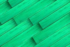 De groene houten panelen van Grunge Stock Foto's