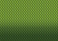 De groene illustratie van het bladerenpatroon Stock Afbeeldingen