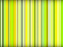 De groene kleuren abstracte gestreepte achtergrond geeft terug Royalty-vrije Stock Foto's