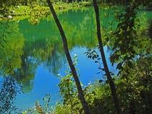 De groene kleuren van de bergen Royalty-vrije Stock Afbeeldingen