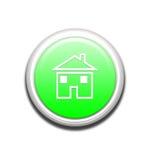 De groene Knoop van het Huis Stock Foto's