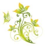 De groene lente, bloemen Stock Foto's