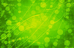 De groene Medische Abstracte Achtergrond van de Wetenschaps Futuristische Technologie stock foto