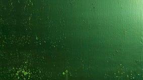 De Groene metaaltextuur stock video