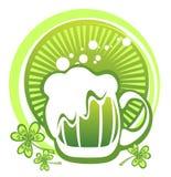 De groene mok van het Bier Stock Foto's