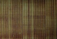 De groene muur van het grunge vuile metaal Stock Afbeelding