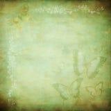 De groene Nevel van de Vlinder Royalty-vrije Stock Foto