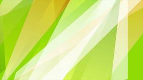 De groene oranje videoanimatie van de zomer glanzende strepen stock videobeelden
