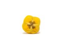 De groene paprika is ingrediënt in een gezonde voeding Royalty-vrije Stock Afbeelding