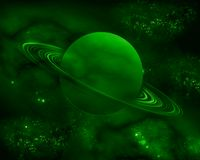 De groene Planeet Stock Foto
