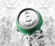 De groene soda kan Stock Fotografie