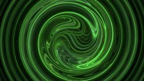 De groene spiraalvormige achtergrond van de patroon abstracte motie stock illustratie