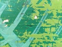De groene textuur van de grungeoppervlakte Stock Foto