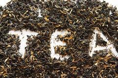 De groene thee van China met bloemen Royalty-vrije Stock Afbeelding