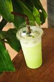 De groene thee van de Smoothiesmelk Royalty-vrije Stock Foto