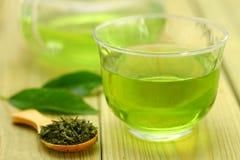 De groene thee van het ijs Royalty-vrije Stock Afbeeldingen