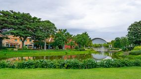 De groene tuin van malika124 royalty-vrije stock foto