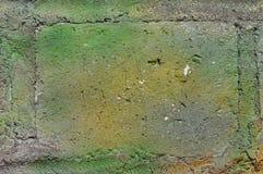 De groene Uitstekende achtergrond van de muurtextuur Royalty-vrije Stock Afbeeldingen