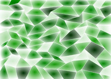 De groene Vectorachtergrond van het Tegelmozaïek Stock Afbeelding