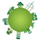 De groene wereld. Royalty-vrije Stock Foto's