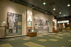 De groene Zaal van de Verpakkers van de Baai van Bekendheid, Voetbal NFL royalty-vrije stock afbeeldingen