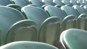 De Groene zetels van Wimbledon Stock Afbeeldingen