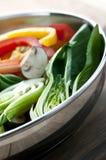 De groente beweegt gebraden gerecht Royalty-vrije Stock Afbeeldingen